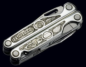:Leatherman 25th Anniversary Silver Charge