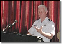 Lt. Col. Scott Morgan, Commander AFRCC, moderated the PLB Panel Session