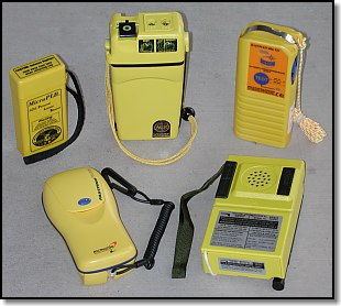 group shot of of Person Locator Beacons (PLBs)