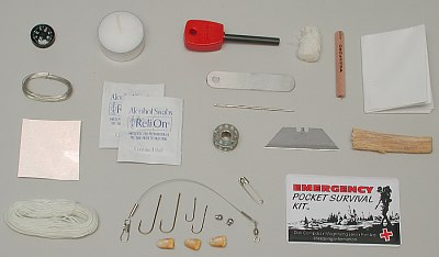 Randall's Adventure and Training Mini Survival Kit