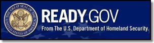 Homeland Security READY.GOV site logo