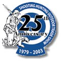 SHOT Show 25th Anniversary logo