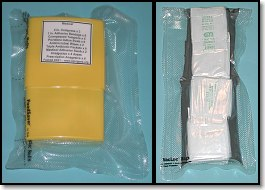 Medical Supplies Vacuum Packed