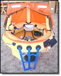 Simon's custom 2-person life raft