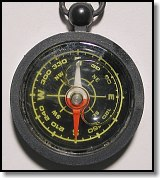 Compass from Tacoma Mountain Rescue Unit Survival Kit