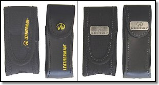 Leatherman Sheaths - Wave (left) Charge (right)