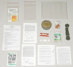 WSI Gold Label Wilderness Survival Kit